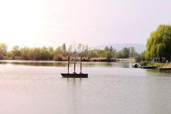 Horgásztó tavasz