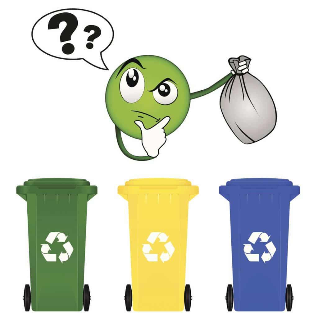Szelektív hulladék válogatás